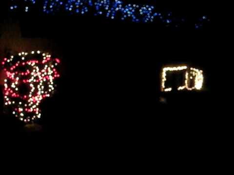 ge lights and sounds of christmas light show on my house