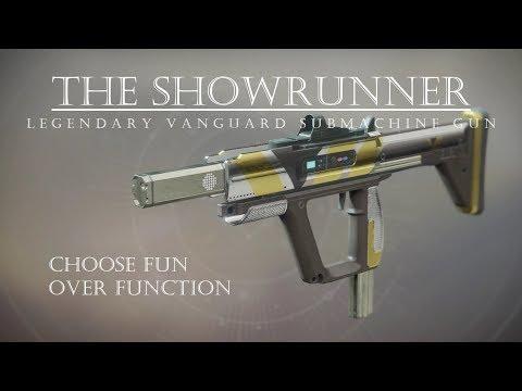 Destiny 2 - The Showrunner - Fun Vanguard SMG - PVP Gameplay Review