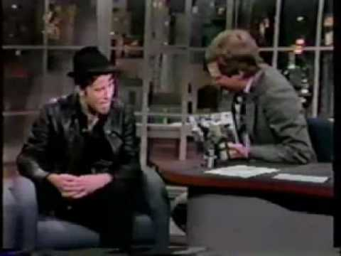 Tom Waits on David Letterman Show (1986) Part 2 of 3
