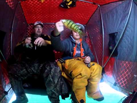 Lunkerboy: Early Ice Perch Lake Couchiching