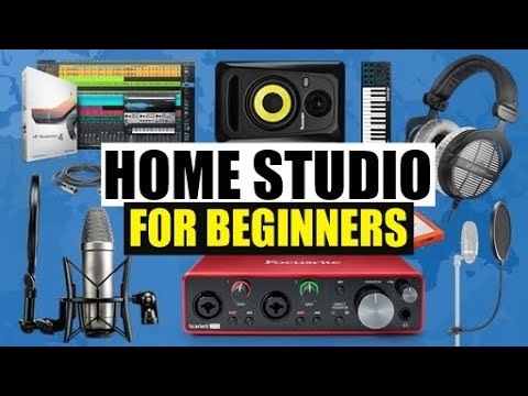 Home Music Studio Equipment - Essentials For Beginners | Best Home Studio Equipment Bundles 2020