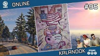 GTA V - ONLINE KALANDOK #95 /w Chabinho /w DoggyAndi /w IceBlueBird /w Csabusa