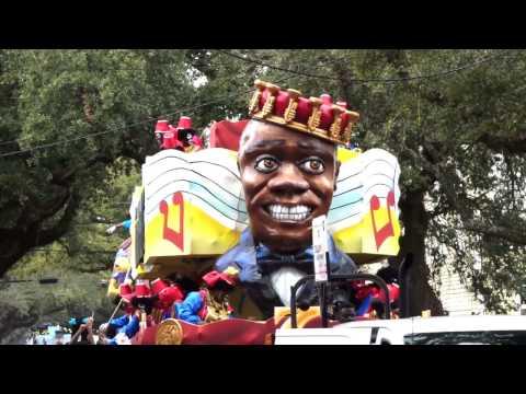 JS #337 - Mardi Gras Parade 2017 - Krewe of Zulu (中英字幕)