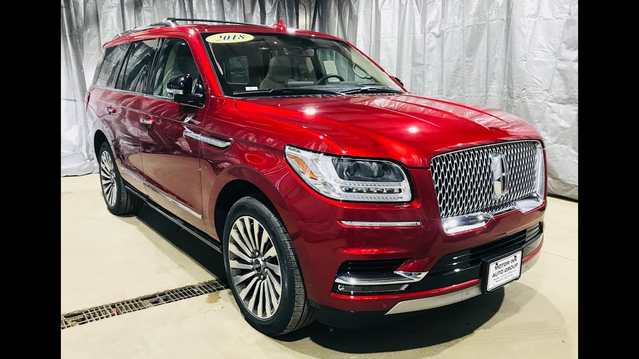 2018 Lincoln Navigator 4x4 Reserve Ruby Red Tinted CC ...