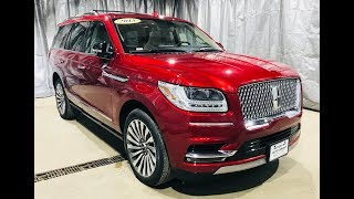 2018 Lincoln Navigator 4x4 Reserve Ruby Red Tinted CC AFT4037 Motor Inn Auto Group