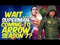Superman Coming To Arrow Season 7? Stephen Amell Talks Team-Up! Lets Talk!