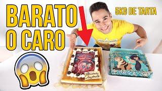 TARTA de cumpleaños BARATA vs CARA ¿Merece LA PENA?
