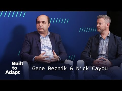 Nick Cayou, Pivotal & Gene Reznik, Accenture | Accelerating Enterprises Everywhere