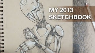 My 2013 sketchbook
