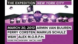 Armin van Buuren - Live A State of Trance 600 New York -  30.03.2013