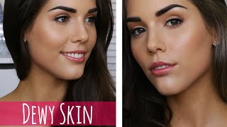 One of Katerina Williams's most viewed videos: Dewy Glowing Skin | DRUGSTORE Makeup Tutorial