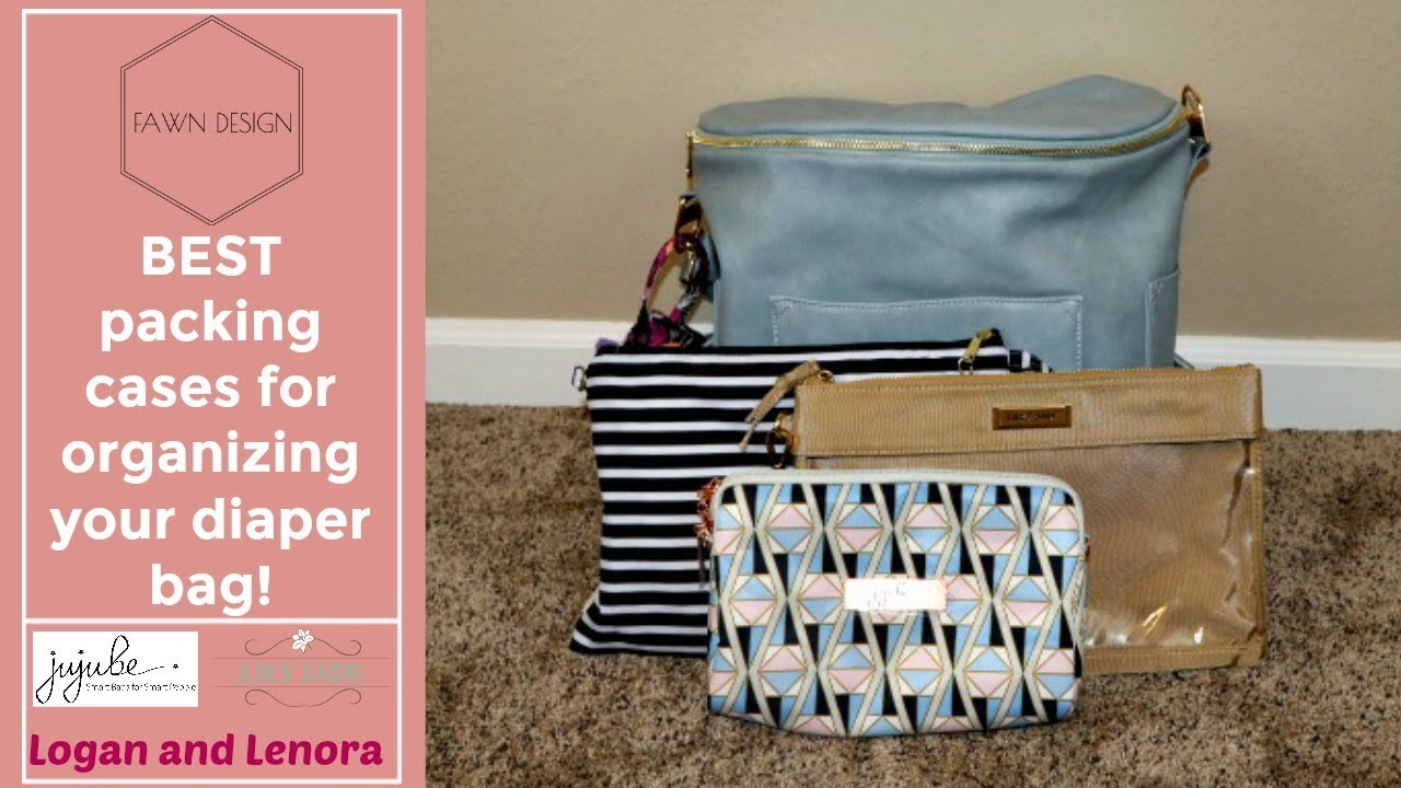 77b37fc142c Organizing your Fawn Design Diaper Bag - YouTube