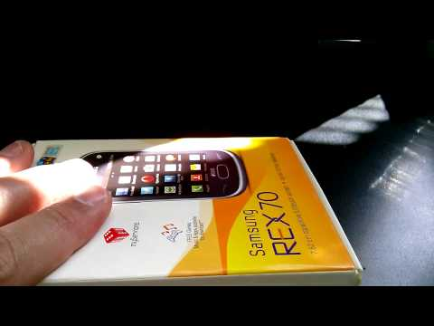 SAMSUNG REX 70 S3802 DUAL SIM Unboxing Video - CELL PHONE in Stock at www.welectronics.com