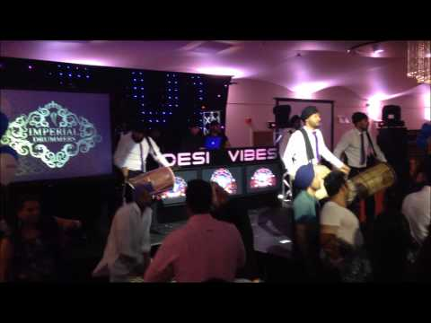 Imperial Drummers | Desi Vibes | Stage Set | UK Dhol Players