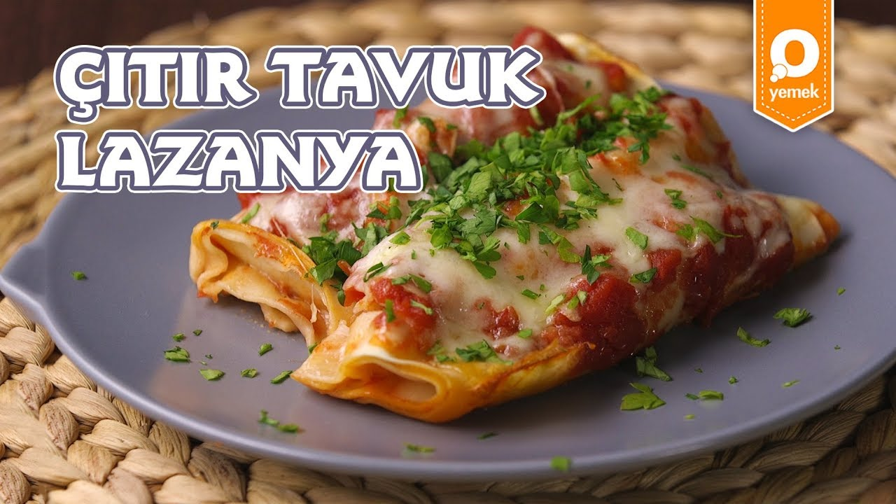 Tavuklu Lazanya Tarifi