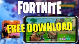 ✅ FORTNITE DOWNLOAD MOBILE ZTE