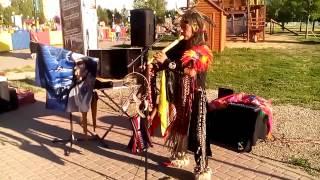 Перуанский индеец в Воронеже