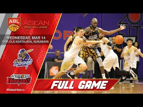 CLS Knights Indonesia vs Westports Malaysia Dragons | FULL GAME | 2017-2018 ASEAN Basketball League