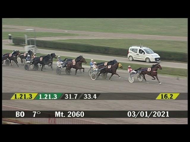 2021 01 03 | Corsa 7 | Metri 2060 | Premio Orion Gef