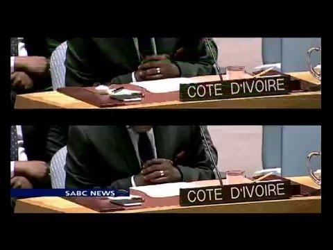 UN lifts a 12-year sanction regime on Cote D'Ivoire