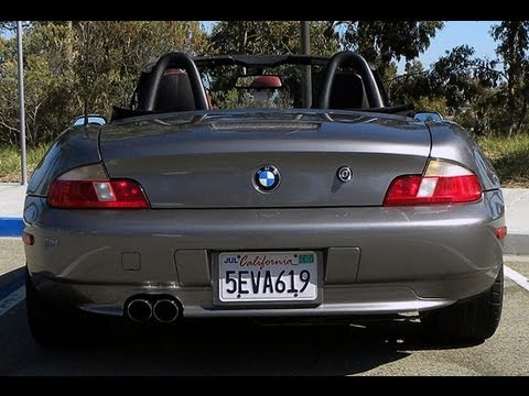 Bmw Z3 3 0 Magnaflow Exhaust Sound Youtube