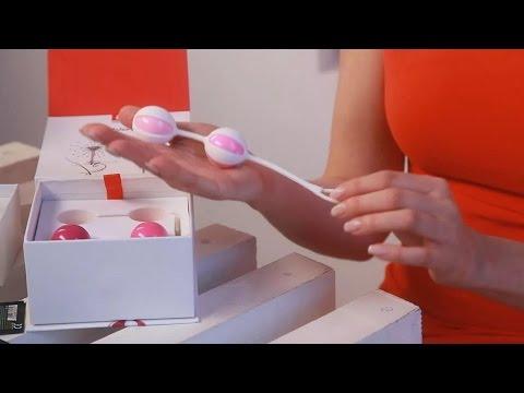 Как вводить вагинальные шарики видео