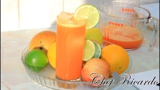 Tangerine & Orange Drink Home-made & Healthy Recipe