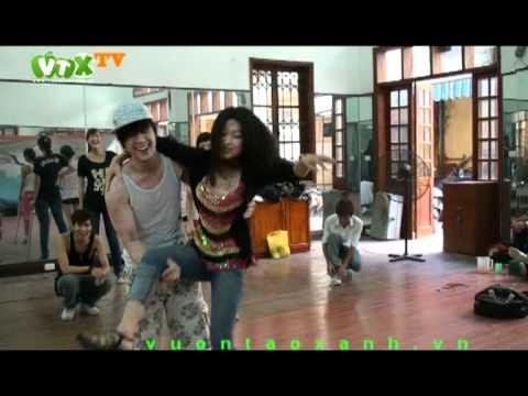 Kênh VTX đã có mặt tại buổi tập của Khánh Phương