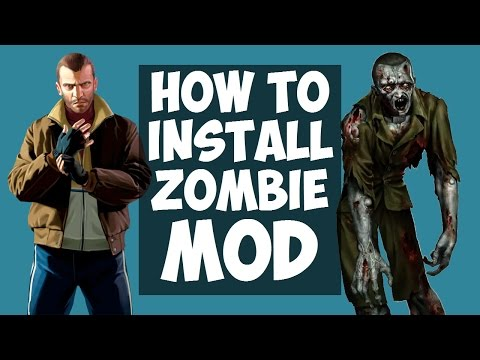 Gta Iv How To Install The Zombie Mod Left Liberty Infection V5 Hd