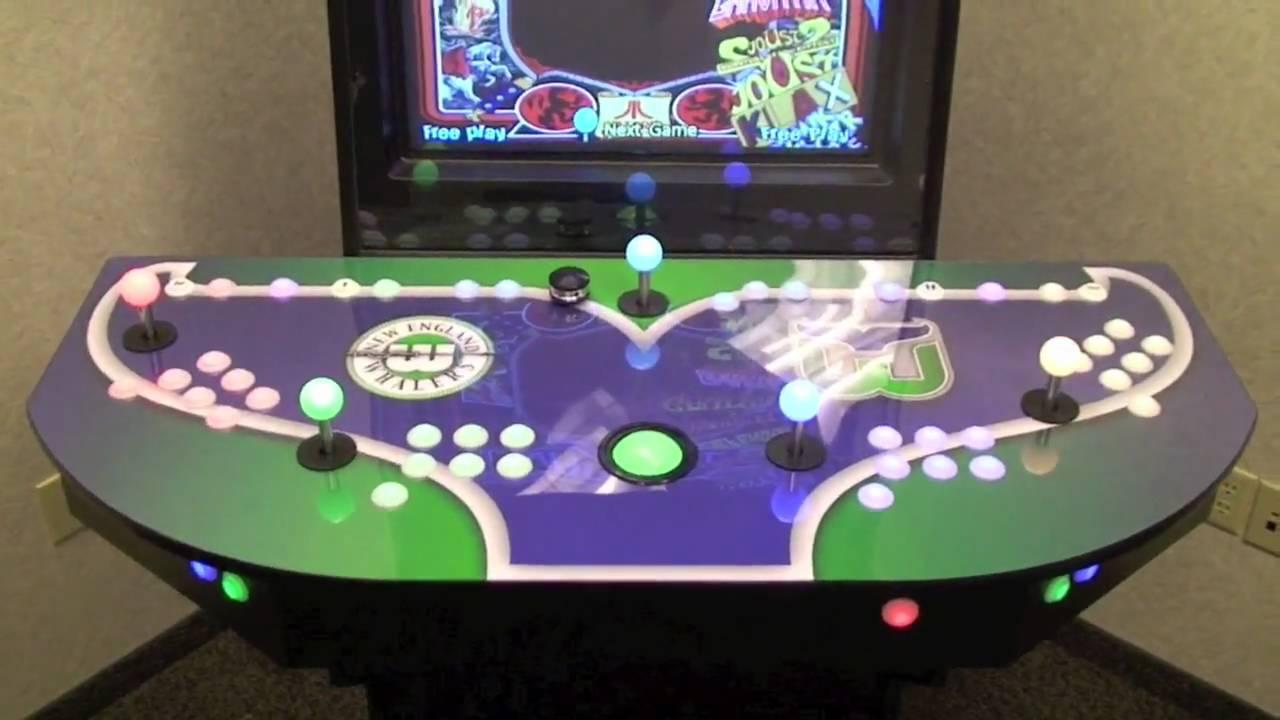 WhalerCade Arcade System - YouTube