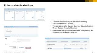 In-App and Side-by-Side Extensibility in SAP S/4HANA Cloud screenshot 1