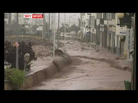 Madeira Floods: British Woman Is Missing