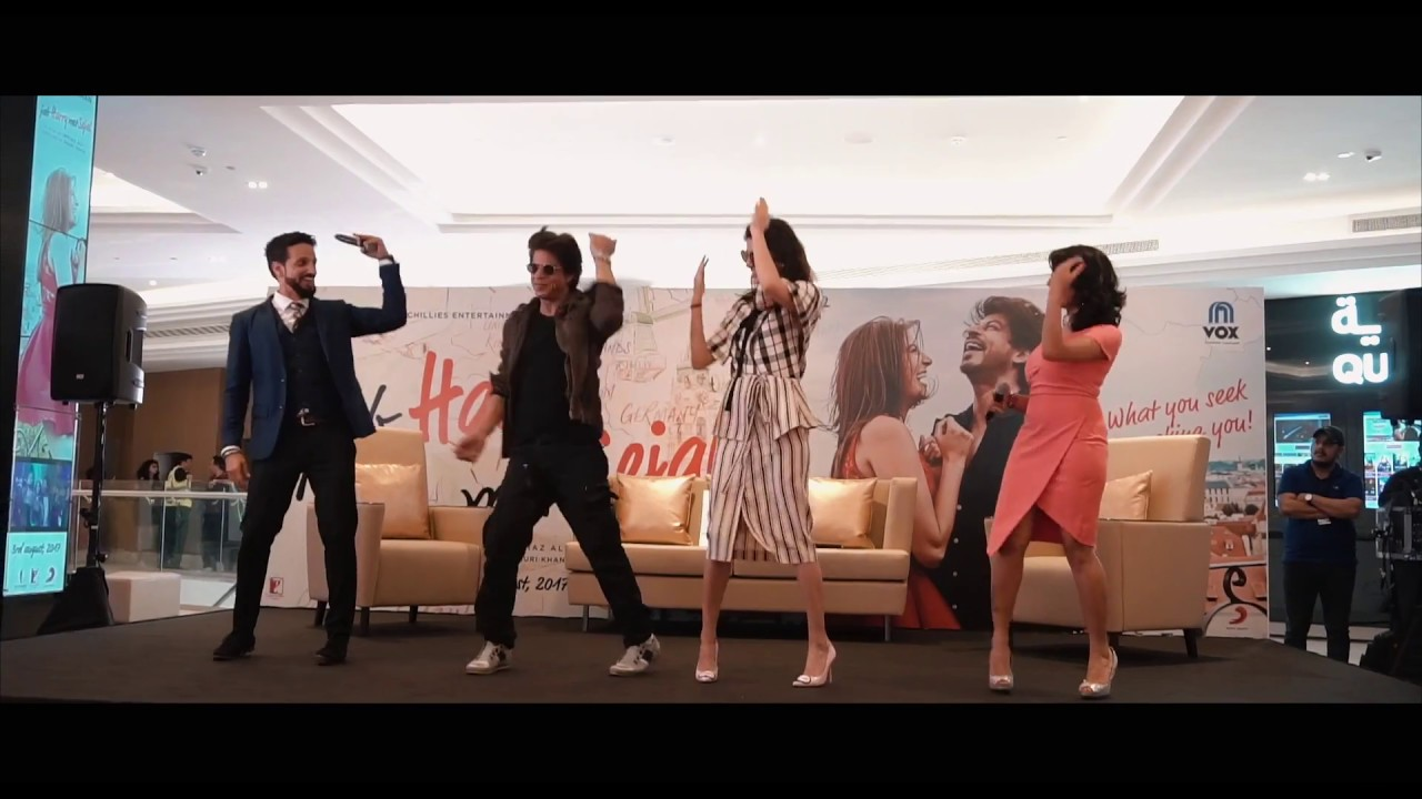 Shah Rukh Khan and Anushka Sharma in VOX Cinemas, City Centre Deira