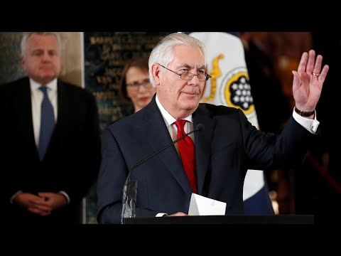 'This can be a mean-spirited town': Rex Tillerson bids farewell