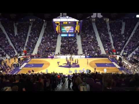 K-State vs KU tipoff chant