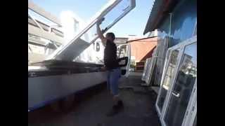 видео перевозка окон пирамида