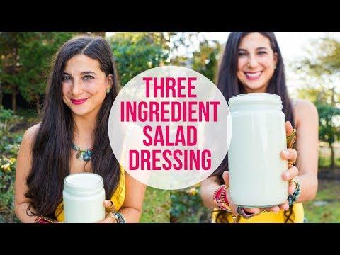 3-Ingredient Dressing for Easy Weekly Meal Prep | FullyRaw Vegan