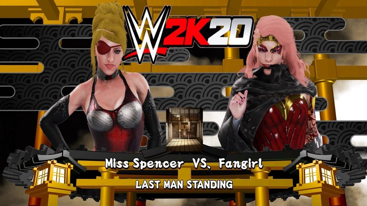 Miss Spencer v Fangirl! - WWE 2K20 Requested Last Woman Standing Match