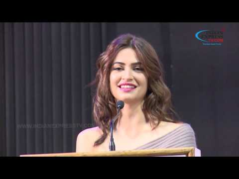 Kriti Kharbanda speech