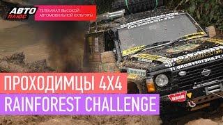 Проходимцы 4х4 - RainForest Challenge - АВТО ПЛЮС