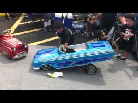 Shorty S Pedal Car At The Show Youtube