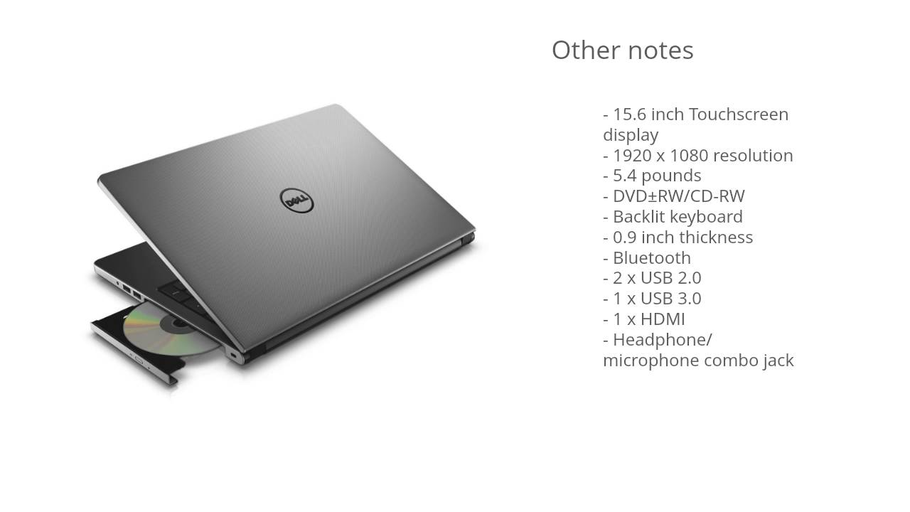 dell inspiron 15 i5559 review
