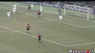 Highlights AC Milan 1-0 Manchester United - 8/3/2005