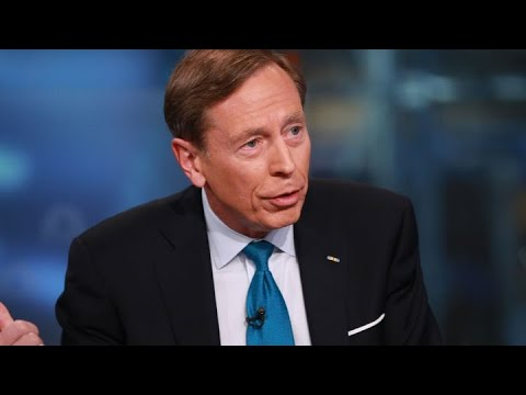 Retired Gen. Petraeus Advocates For A Expeditious And Orderly Transition Of Power