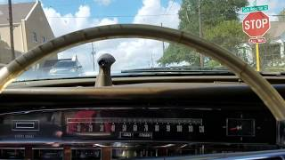 1966 Imperial Crown Sedan Hotwire & Driving Impression