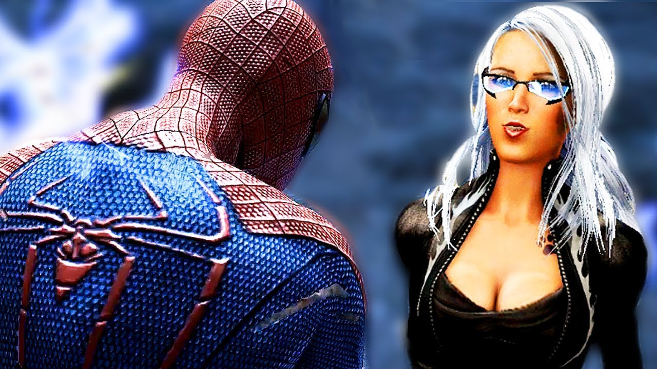 Spider-Man vs Black Cat (Felicia Hardy) in The Amazing Spider-Man! All Black Cat Scenes