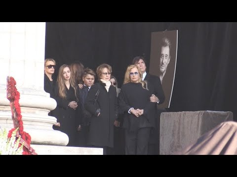 Obseques de Johnny Hallyday - Funeral Part 1