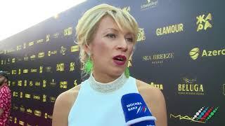 Мария Захарова о фестивале Жара в Баку