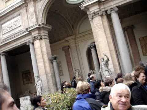 Germany-Rome-Egypt-Turkey: Vatican Museum With Luigi Rome #2 120709.MPG