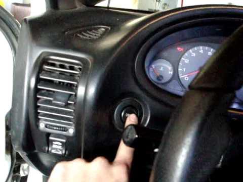 '95 Acura Integra Custom Push Button Start - YouTube